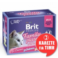 BRIT PREMIUM FAMILY PATE JELLY 12x85gr
