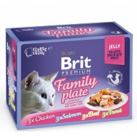BRIT PREMIUM FAMILY PLATE JELLY 12x85gr