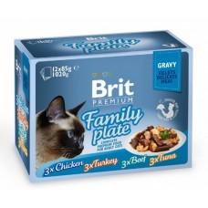BRIT PREMIUM FAMILY PLATE GRAVY 12x85gr
