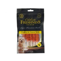 CELEBRATE FRESHNESS CHICKEN AND CARROT STICKS