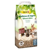 GIMBI LITTER (PRESSED WOODEN FIBRES)