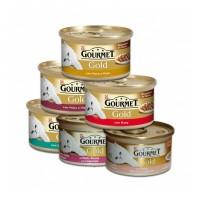 GOURMET Gold 85gr (διάφ. γεύσεις)
