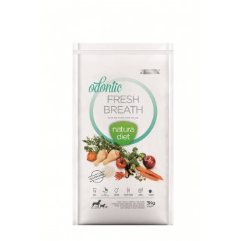 NATURA DIET ΣΚΥΛΟΥ ODONTIC FRESH BREATH 3kg