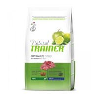 NATURAL TRAINER ADULT MAXI BEEF RICE AND GINSENG