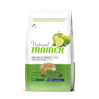 NATURAL TRAINER ADULT MAXI CHICKEN RICE ALOE VERA