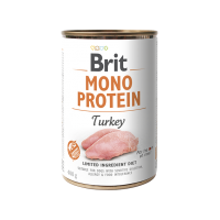 BRIT DOG CANS MONOPROTEIN TURKEY 400gr