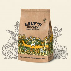 LILY'S KITCHEN ORGANIC CHICKEN AND VEGETABLE BAKE FOR DOGS