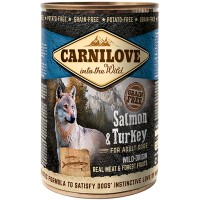 CARNILOVE SALMON TURKEY ADULT GRAVY 400gr