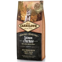 CARNILOVE LARGE BREED PUPPY SALMON AND TURKEY