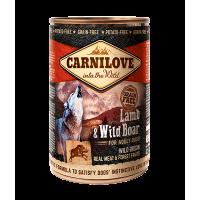 CARNILOVE  LAMB WILD BOAR ADULT GRAVY 400gr
