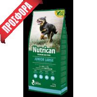 NUTRICAN ΣΚΥΛΟΥ JUNIOR LARGE 15kg+2kg  ΔΩΡΟ