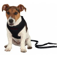 PUPPY SOFT HARNESS WITH LEASH