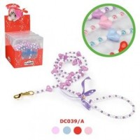CAMON LEASH WITH PEARLS