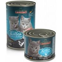 LEONARDO Κονσέρβα γάτας KITTEN 400γρ.