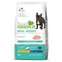 NATURAL TRAINER ΣΚΥΛΟΥ IDEAL WEIGHT MINI ΛΕΥΚΑ ΚΡΕΑΤΑ 2kg