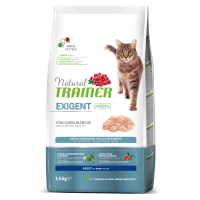 NATURAL TRAINER ΓΑΤΑΣ ΛΕΥΚΑ ΚΡΕΑΤΑ (Απαιτητικές γάτες) 1,5kg