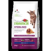NATURAL TRAINER ΓΑΤΑΣ ΠΡΟΣΟΥΤΟ (Στειρωμένες γάτες) 1,5kg