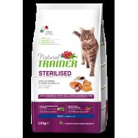 NATURAL TRAINER ΓΑΤΑΣ ΣΟΛΩΜΟΣ (Στειρωμένες γάτες) 1,5kg