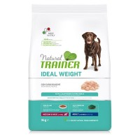 NATURAL TRAINER ΣΚΥΛΟΥ IDEAL WEIGHT MEDIUM/MAXI 3kg