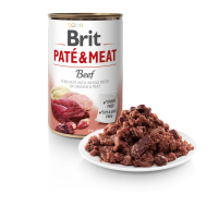 BRIT DOG CANS PATE & MEAT BEEF 400gr