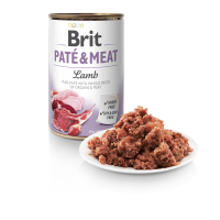 BRIT DOG CANS PATE & MEAT LAMB 400gr