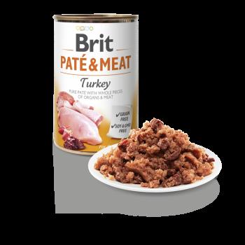 BRIT DOG CANS PATE & MEAT TURKEY 400gr