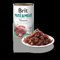 BRIT DOG CANS PATE & MEAT VENISON 400gr