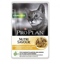 PRO PLAN Nutri Savour Sterilised 85gr