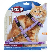 TRIXIE HARNESS WITH LEASE CAT BIG