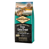 CARNILOVE FRESH ΚΥΠΡΙΝΟΣ & ΠΕΣΤΡΟΦΑ (Ενήλικες σκύλοι) 1,5kg