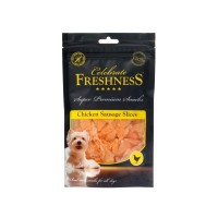 CELEBRATE FRESHNESS CHICKEN SAUSAGES SLICES 100gr