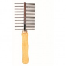 RECORD DOUBLE SIDED COMB