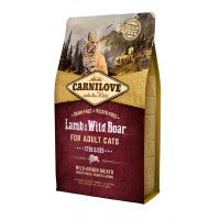 CARNILOVE LAMB AND WILD BOAR FOR ADULT CATS
