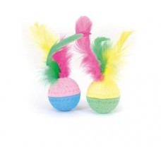 CAMON TOY WITH FEATHER