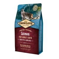 CARNILOVE ΣΟΛΩΜΟΣ (Ενήλικες γάτες) 2kg