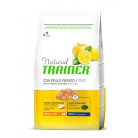 NATURAL TRAINER ADULT MINI CHICKEN RICE ALOE
