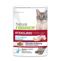 TRAINER Sterilized Chunks in gravy 85gr