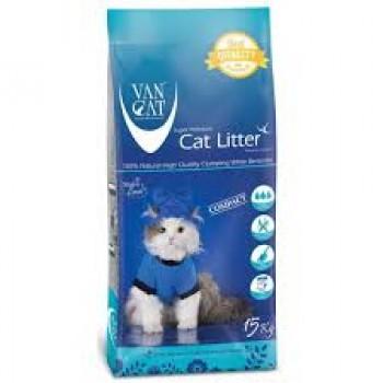 VAN CAT NATURAL WHITE 15kg