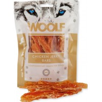 WOOLF CHICKEN JERKY BARS 100gr