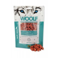 WOOLF DUCK CHUNKIES (FOR MINI/MEDIUM BREEDS) 100gr