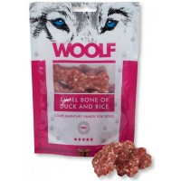 WOOLF SMALL BONE OF DUCK AND RICE 100gr